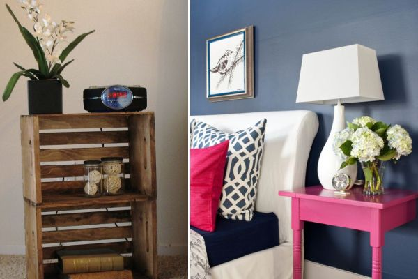 DIY Nightstand Ideas Ideas