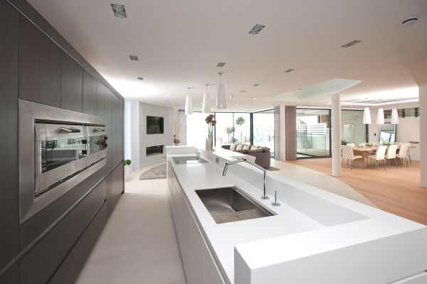 Expansive private home on the sandbanks peninsula for Ensuite dressing room ideas