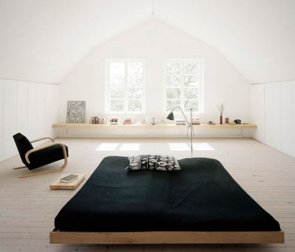 View in gallery An example of a typical contemporary platform bed ...