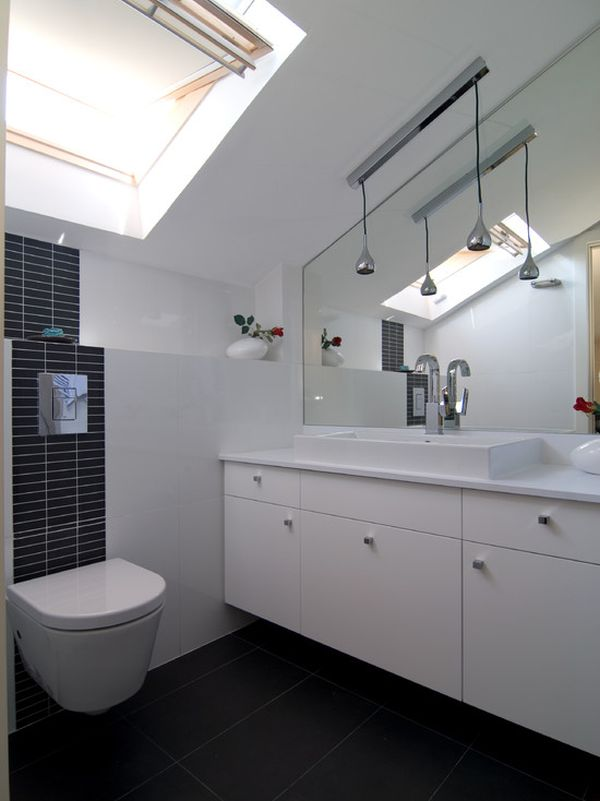 Decorating tips for smaller en suite bathrooms for Small ensuite bathroom