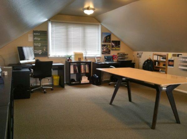 attic home office ideas - 30 Cozy Attic Home fice Design Ideas