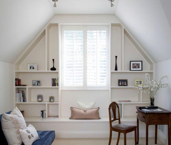 Cozy Home Office Design Ideas: 30 Cozy Attic Home Office Design Ideas