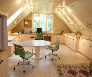 ... Professional Look · 30 Cozy Attic Home Office Design Ideas
