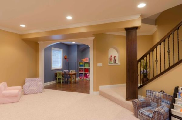 cool garage ideas diy - Basement Design Ideas For A Child Friendly Place