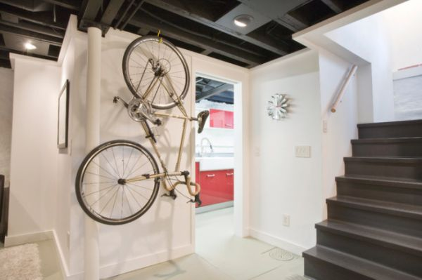 Creative Ideas That Show You How To Park Your Bike Indoors Awesome Ideas
