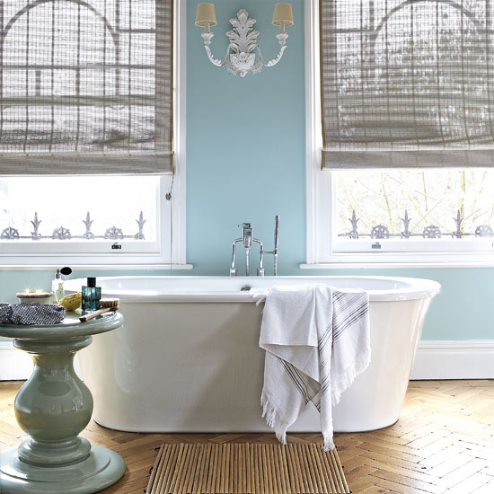 Bathroom Color Inspiration Gallery: Serene Blue Bathrooms: Ideas & Inspiration