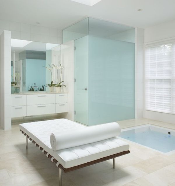 How to give your bathroom a spa like feel Bathroom design spa look