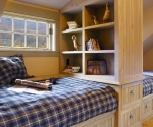 Storage Ideas For A Boy's Bedroom