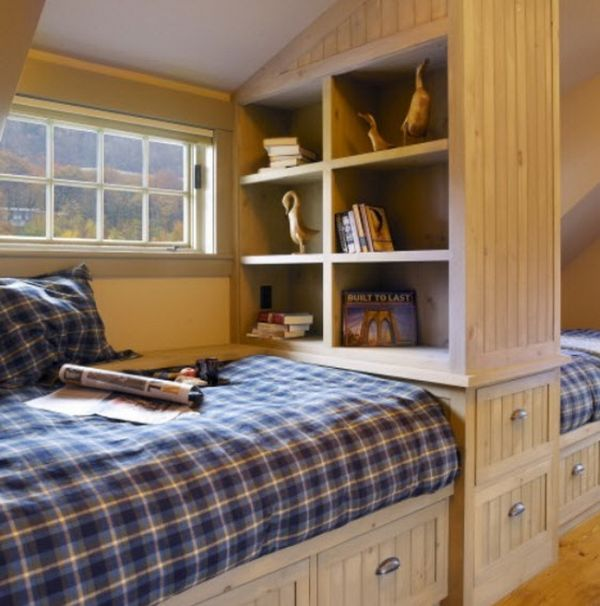 Small Bedroom Big Heart And Lots Of Storage: Storage Ideas For A Boy's Bedroom