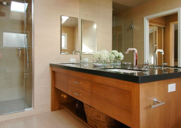 Superb View In Gallery Contemporary Bathroom ...