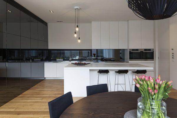 Black And White Kitchen Modern 55 modern kitchen design ideas that will make dining a delight