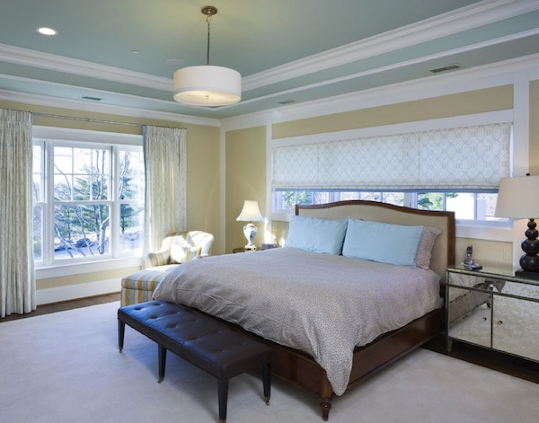 ceiling color bedroom