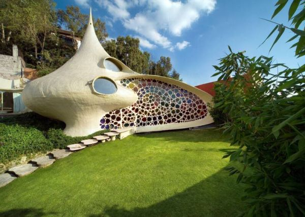 Although The House Weu0027ve Just Presented You Is Unique, Itu0027s Not The Only  One That Has A Design Inspired By Seashells. There Are Other Homes That  Were Also ...