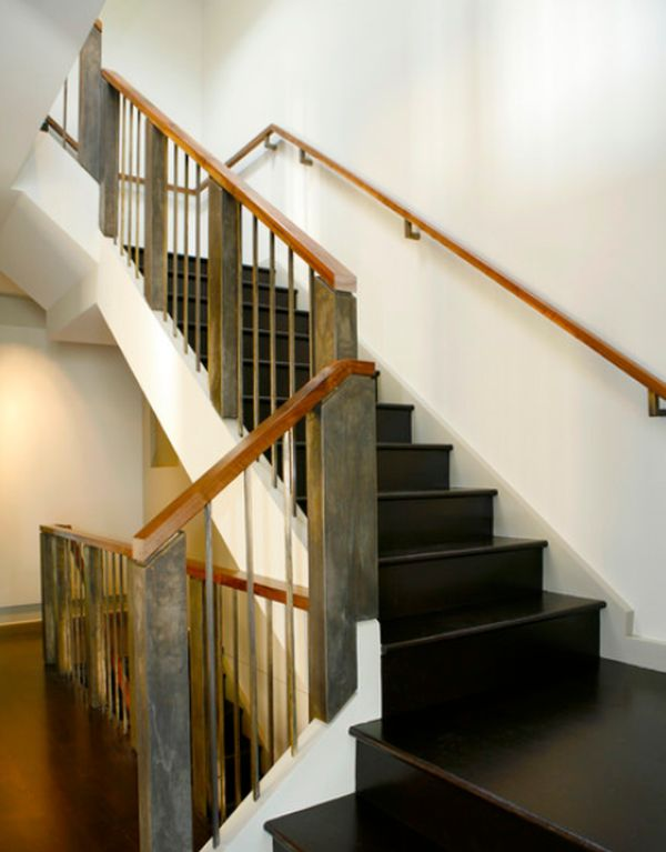 Genial Modern Handrail Designs That Make The Staircase Stand Out