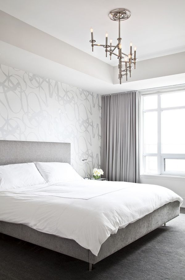 Decorating a silver bedroom ideas inspiration Bedroom wall designs in pakistan