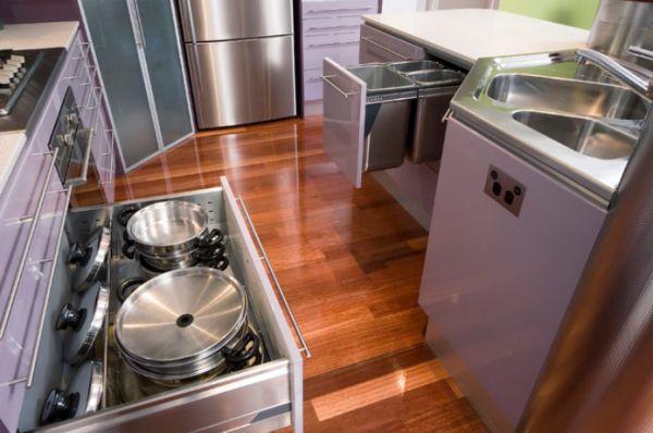 Contemporary Kitchen Storage Systems