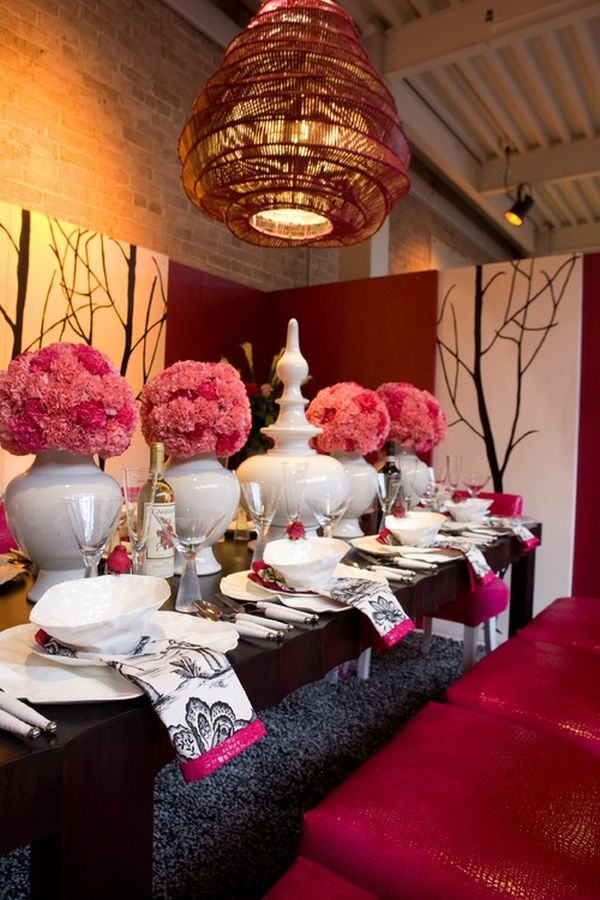 Bon 5 Valentineu0027s Day Party Decor Ideas