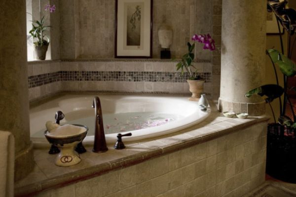 How to choose the perfect bathtub for How to decorate a garden tub bathroom