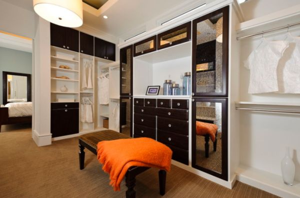 25 interesting design ideas and advantages of walk in closets - Open closets small spaces paint ...