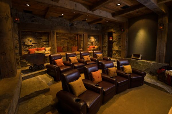 Five top tips for a cool media room - Best paint color for home theater ...