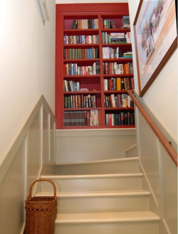 Wonderful Stair Landing Shelves. Pictures