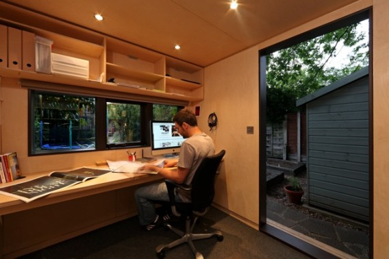 10 private tranquil and spectacular garden shed offices for 8x10 office design
