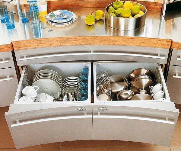 15 kitchen drawer organizers for a clean and clutter free dcor view in gallery kitchen drawer organized featuring two large compartments for workwithnaturefo