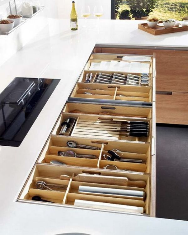 15 Kitchen drawer organizers – for a clean and clutter