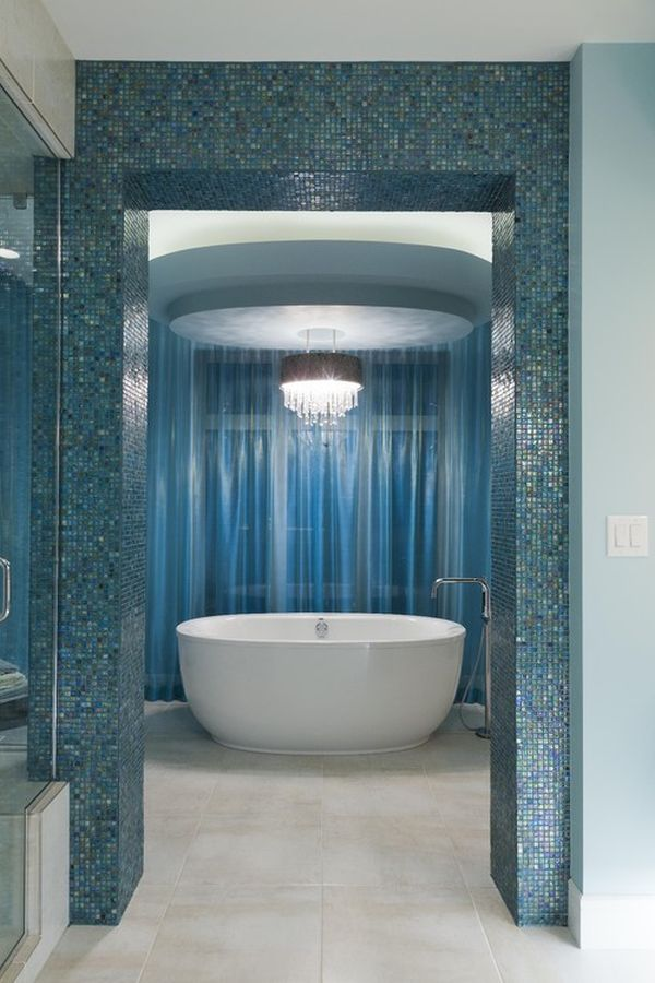 Serene blue bathrooms ideas inspiration for Bathroom ideas in blue