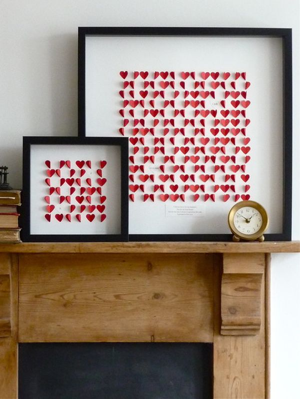 5 valentine 39 s day party decor ideas - Leere bilderrahmen dekorieren ...
