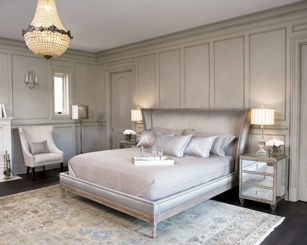 Decorating a silver bedroom ideas inspiration for Blue white and silver bedroom ideas