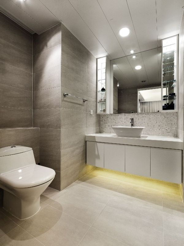 Different ways in which you can use led lights in your home for Bathroom strip light