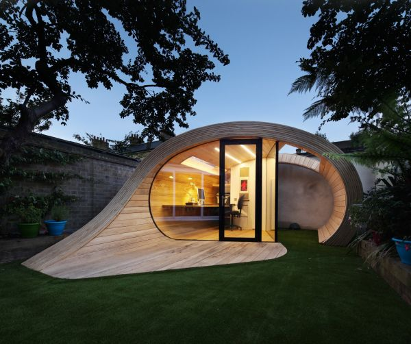 10 Private tranquil and spectacular garden shed offices