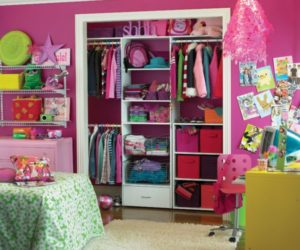 How To Choose Closets For A Girls Room
