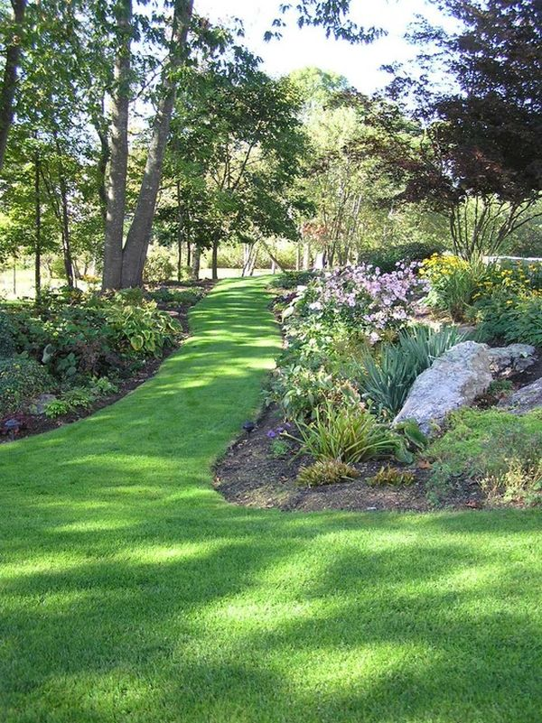 Wonderful How To Build A Pathway Across A Lawn Photo Gallery