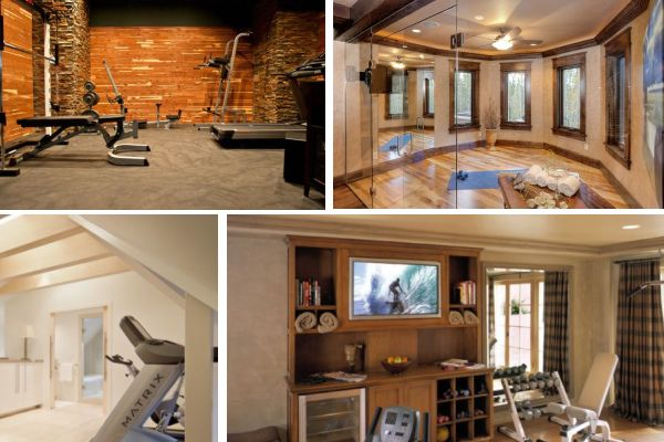 Home Gym Design: Home Gym Designs That Will Keep You Motivated In Winter