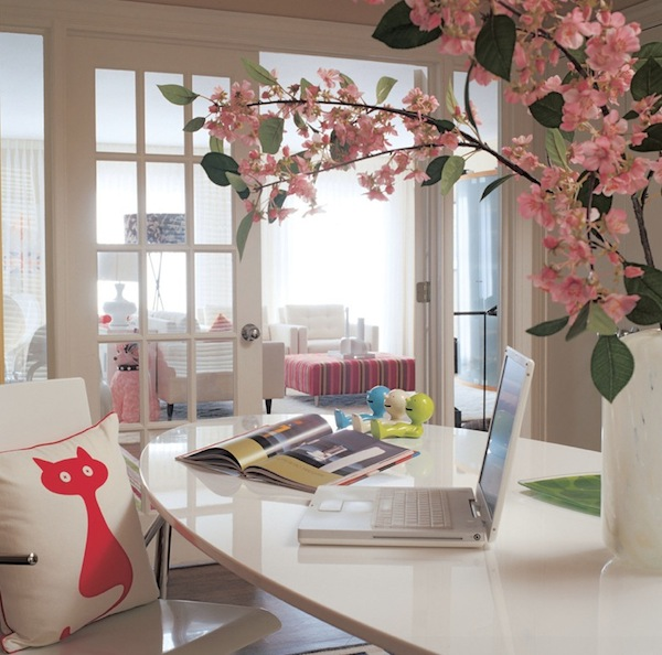 flowers home office