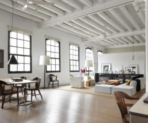 Former textile workshop, now a stylish loft apartment in Barcelona