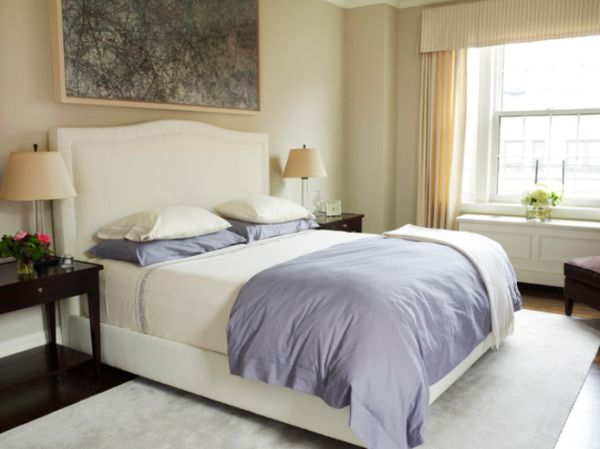 11 stylish upholstered headboard ideas for Bedroom ideas with upholstered headboards