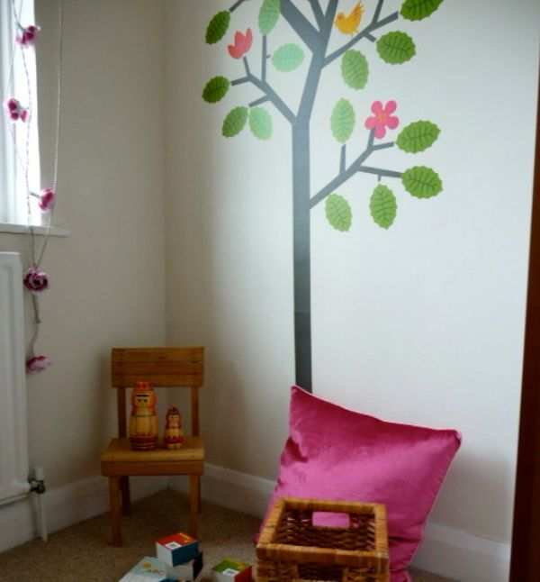 In The Playroom. View In Gallery Contemporary Playroom Featuring A Tree  Wall Decal ... Pictures