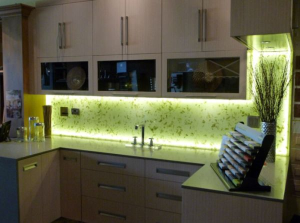 Backsplash Lighting Model Different Ways In Which You Can Use Led Lights In Your Home