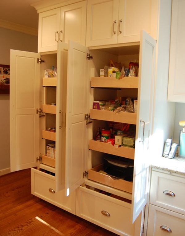 Superb 19 Unexpected, Versatile And Very Practical Pull Out Shelf Storage Ideas