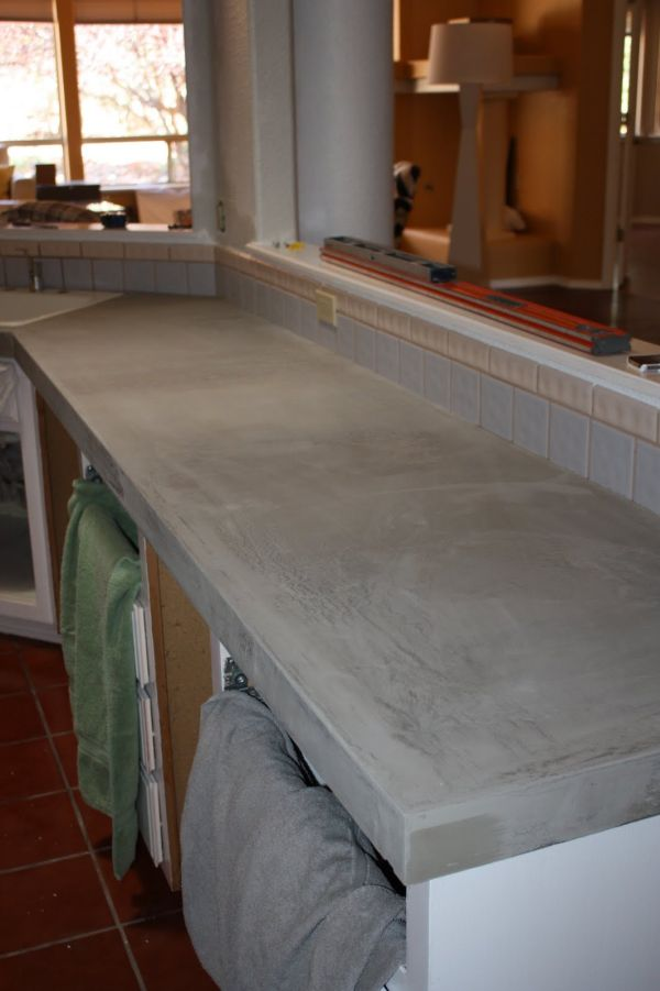 cement kitchen countertops diy concrete features that will add charm and character to 803