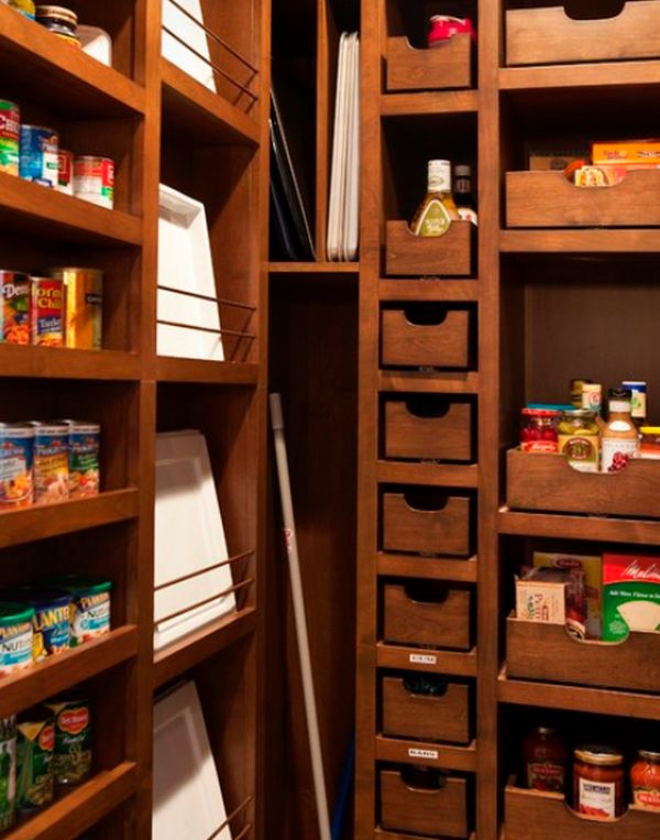 Maximize your kitchen pantry space Maximize kitchen storage