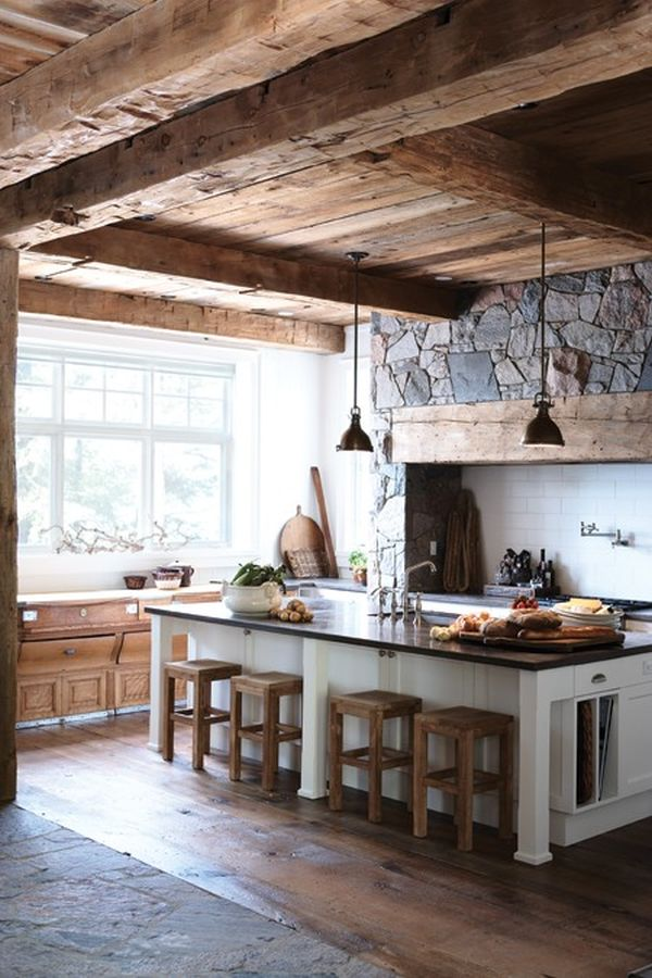 Reclaimed Wood Rustic Home Office: An Eco-friendly Option That
