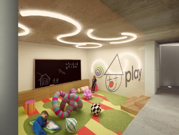 five kids 39 playroom ideas to inspire. Black Bedroom Furniture Sets. Home Design Ideas