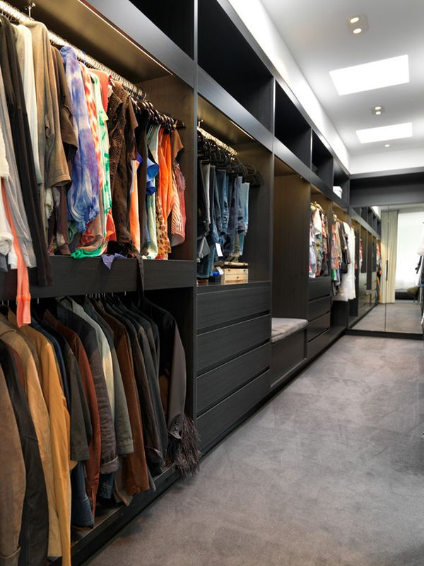 25 Interesting Design Ideas And Advantages Of Walk In Closets Part 71