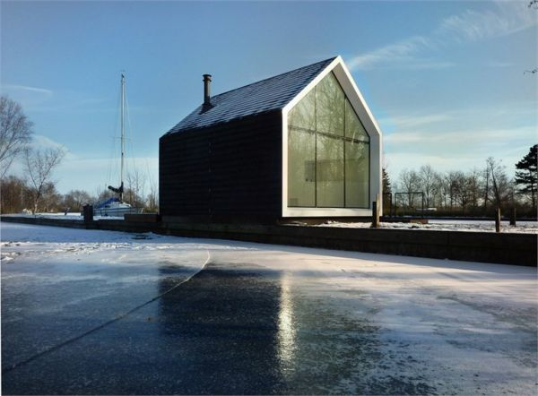 architecture houses glass. Plain Architecture Twofaced Cottage On Loosdrechtse Lake On Architecture Houses Glass