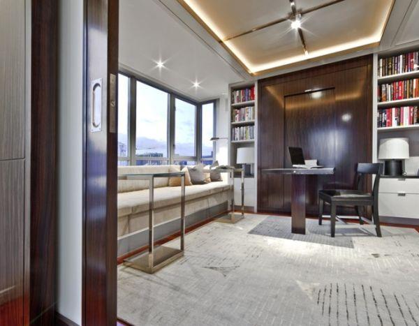 Space-Efficient And Versatile Fold-Down Desk Designs