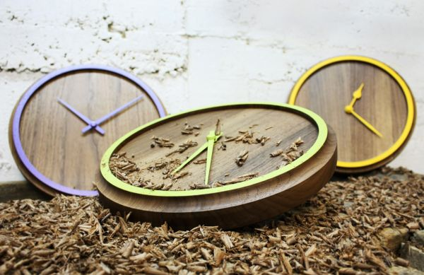 Wonderful Madera Wall Clock. Great Pictures